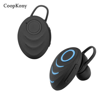 Auriculares estéreo deportivos Bluetooth Coopkony manos libres inalámbricos Bluetooth Mini auriculares Bluetooth para iPhones