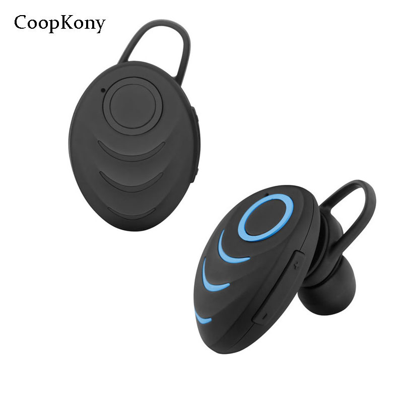 Coopkony Bluetooth Sports Stereo Ear phone Hand-free Wireless Bluetooth Earphone Mini Bluetooth Headset Headphones for iPhones remax 2 in1 mini bluetooth 4 0 headphones usb car charger dock wireless car headset bluetooth earphone for iphone 7 6s android