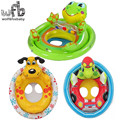 3-5 years Max capability 23KG Children kids Swim Ring Baby Sitting Circle Life Floating cartoon summer water frog