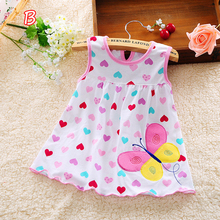 Baby Girl Dress Sleeveless A-Line Clothing 0-24 Months