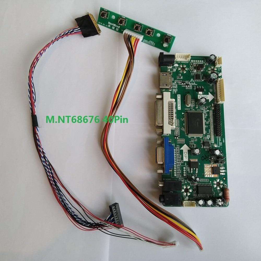 LCD LED Controller Board Driver kit for CLAA154WB05AN HDMI DVI VGA M.NT68676
