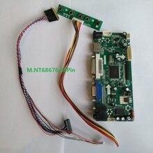 Kit for LTN156AT05-H01 15.6″ LED DIY M.NT68676 40pin Controller board Display 1366X768 Screen Panel DVI HDMI LCD VGA