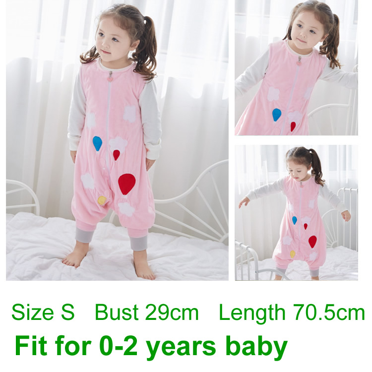 fbdf639f1 Spring Autumn Flannel Baby Sleeping Bag Toddler Kids Pajamas Newborn ...