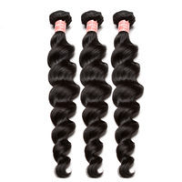 Brazilian Hair Weave Bundles Loose Wave Human Hair Extensions Remy Hair 1 or 3 Bundles Natural Color Hair Weave You May