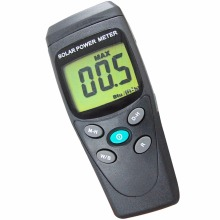 Digital Solar Power Meter BTU W/M2 Radiation Energy Cell Tester Auto Range Made in Taiwan