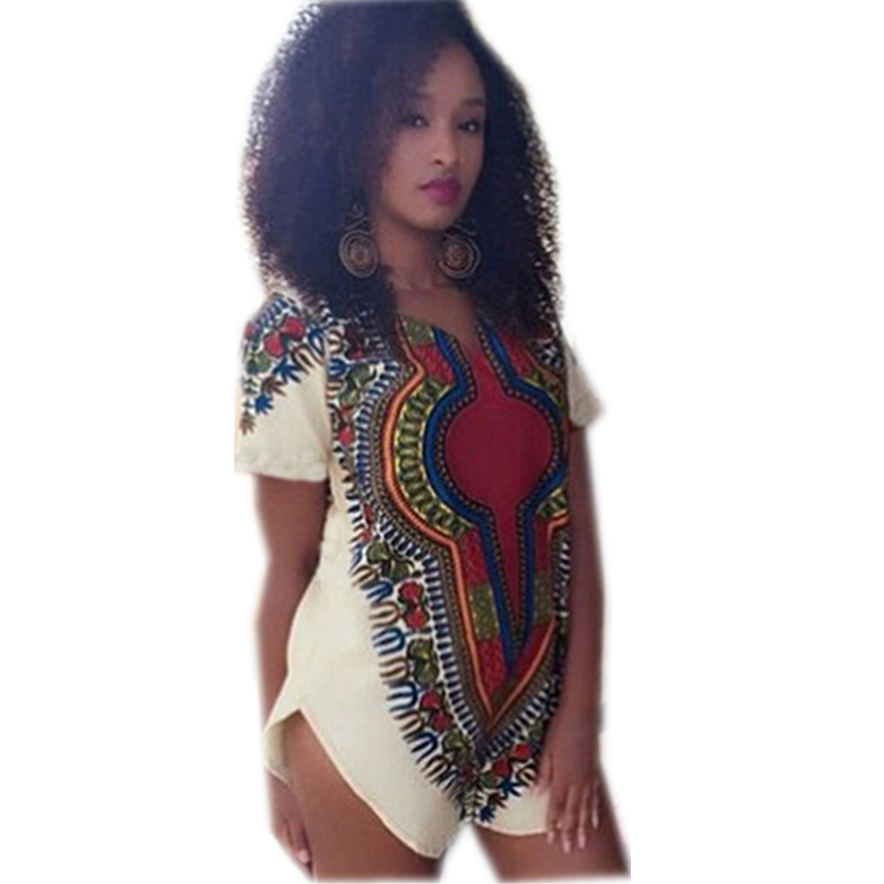 Super shirt motif africain femme VB78