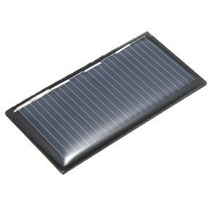 LEORY 2V 0.18W 90MA Polycrystalline Silicon Epoxy Solar Panels DIY Solar Module for charging cellphone and small DC battery