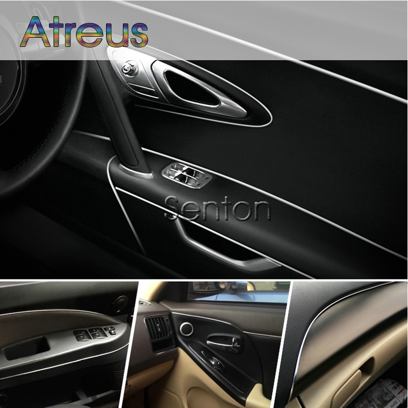 Car Interior Decoration Moulding 5M For Opel Astra H J G Insignia Mokka Corsa D Vectra C Zafira Meriva For Seat Leon Ibiza Altea case for opel mokka antara astra g j h insignia vectra corsa zafira reflective stickers baby on board funny car stickers