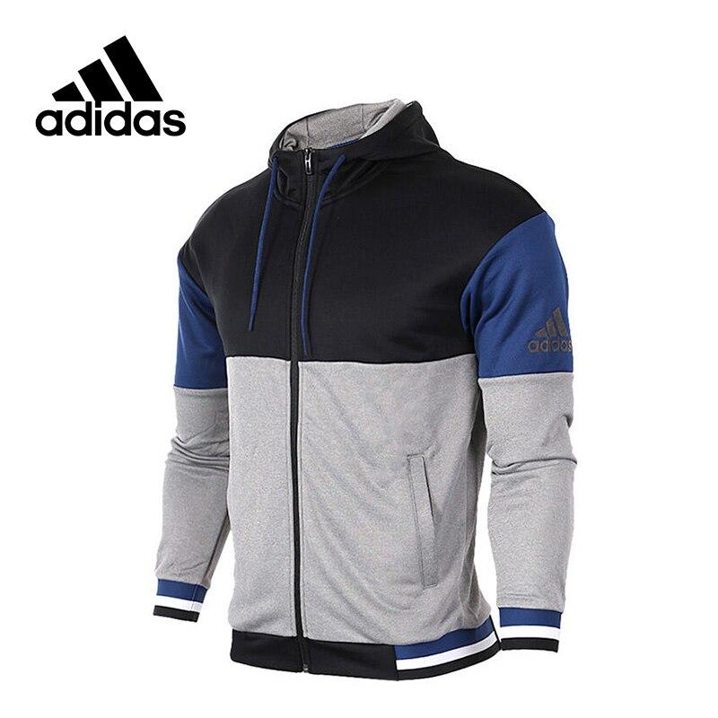 a1d3a86d1a8 Adidas Оригинальный м TC SWT JKT мужская спортивная куртка с капюшоном 1