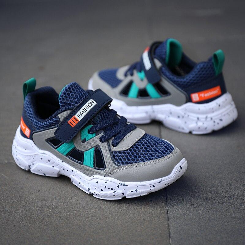 Chaussures de Sport Enfant Gar/çon Baskets Mode Fille Chaussures de Running Gar/çon Chaussures de Sport en Salle Enfants Chaussures Gar/çon 28-38
