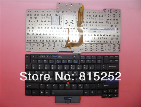 Laptop Keyboard For lenovo For Thinkpad T410I T410S T410SI T420I T420S T420SI T510I T520I X220I X220IT X220T United states black new laptop keyboard for lenovo thinkpad t410 t420 x220 t510 t510i t520 t520i w510 w520 series laptop keyboard us layout