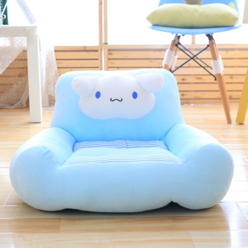 Fancytrader belle peluche animaux chien ours chat chaise Anime doux enfants Mini canapé coussin poupée beaux cadeaux 7 modèles