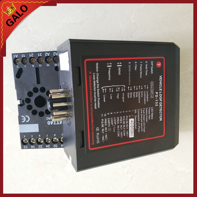PD0234 dual channel inductive vehicle loop detector sensor for mightymule FAAC BFT motor Barrier Gate car parking system цены онлайн
