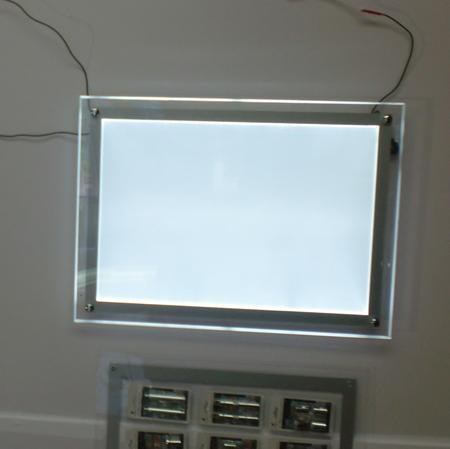 Qualidade caixa de luz de publicidade Display