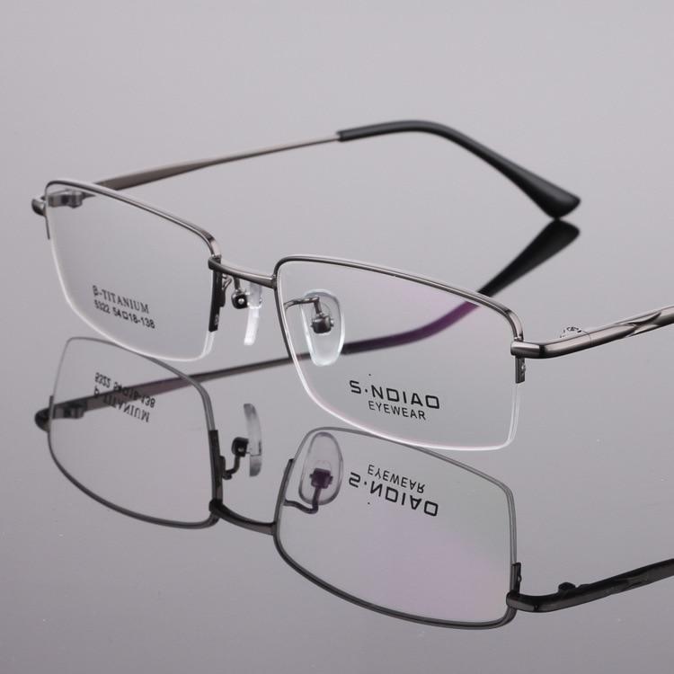 Half Rim Men Progressvie Reading Glasses With Moypia Lens anti blue ray uvb 400 protection