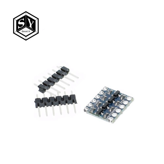 1pcs 4 channel IIC I2C Logic Level Converter Bi-Directional Module 5V to 3.3V For Arduino
