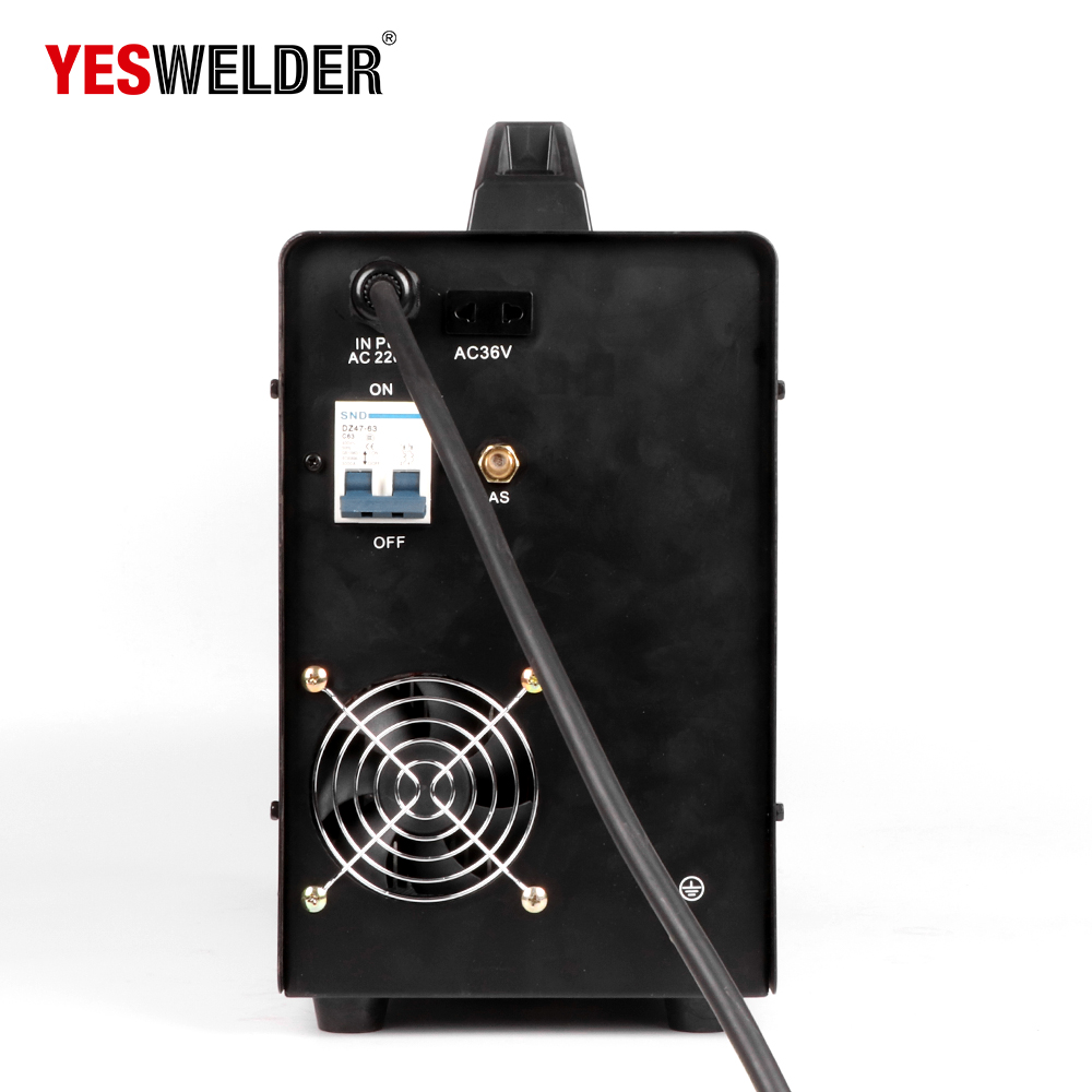 Image 5 - YESWELDER MIG250A No Gas and Gas MIG Welding Machine MIG Welder With Light Weight Single Phase 220V Iron WelderMIG Welders   - AliExpress