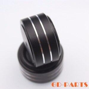 Image 4 - 4 pièces 40*20mm usiné plein aluminium amplificateur pieds PC châssis haut parleur armoire Isolation support Base ampli DAC plateau tournant cône