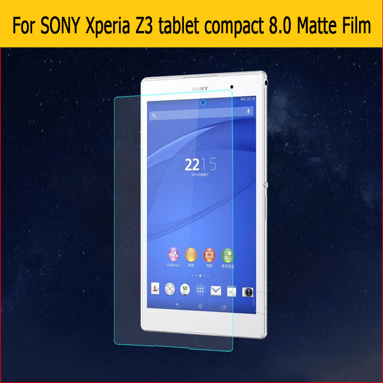 Anti-Glare Screen Protector Matte Film For Sony Xperia Z3 Compact Tablet 8.0