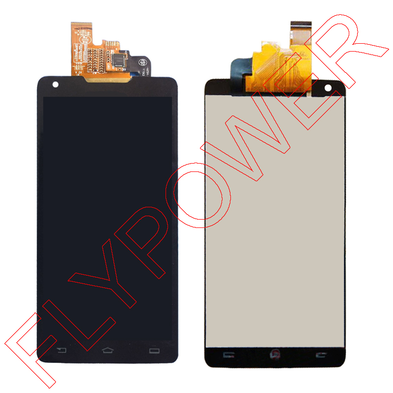 FOR Philips Xenium W6618 W6610 LCD Screen Display With Touch Screen Digitizer Glass assembly without flashing