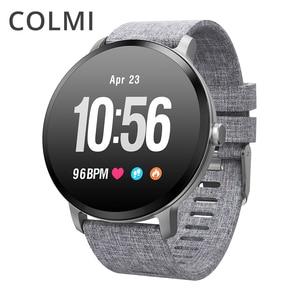 Image 1 - Смарт часы COLMI V11 с защитой класса IP67, закаленным стеклом и Пульсометром
