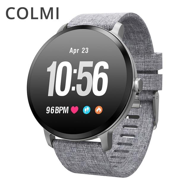 Смарт часы COLMI V11 с защитой класса IP67, закаленным стеклом и Пульсометром