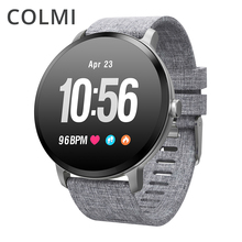Colmi v11 스마트 시계 ip67 방수 강화 유리 활동 피트니스 트래커 심박수 모니터 브림 남성 여성 smartwatch