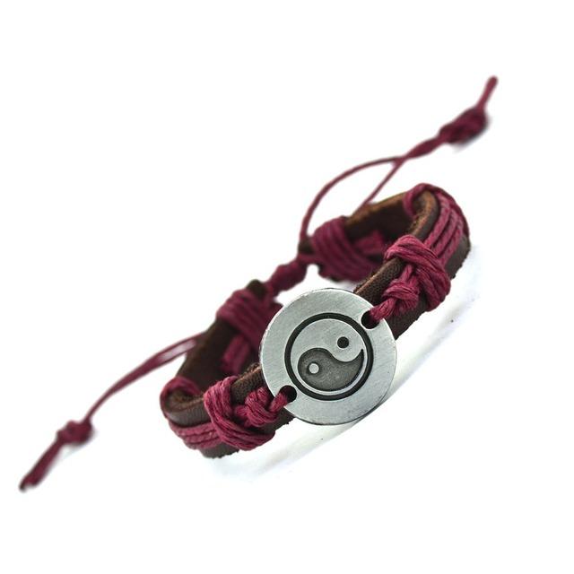 Handmade Vintage Leather Bracelet