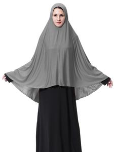 Image 5 - Ropa Hijab árabe para rezar para mujer, gorro hiyab musulmán largo islámico, Abaya para pañuelo, funda completa para la cabeza, cuello, bufanda