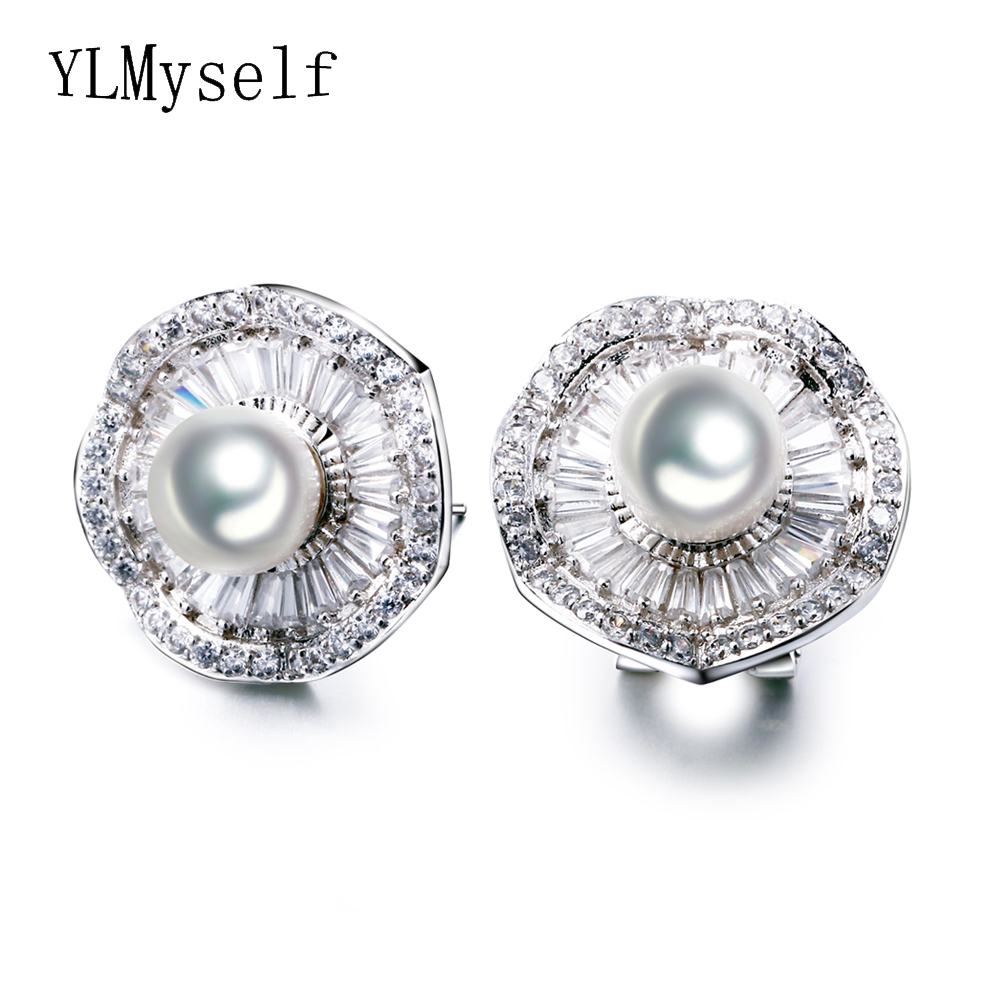 cluster icing stud us large flower earrings