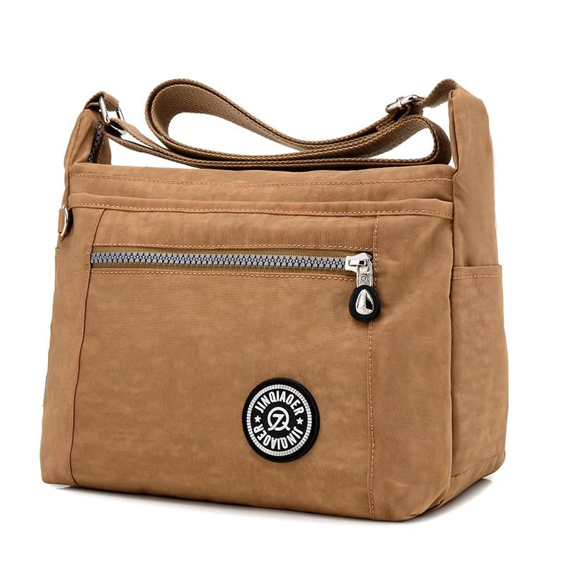 SAKANKA Crossbody Shoulder Bags For Women Hobos Messenger Bag Female Handbag Beach Clutch Nylon Casual Bolsas Feminina sac femm