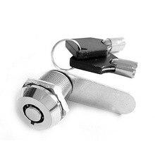 Urijk 1 комплект 16/20/25/30 мм замки для почтовых ящиков шкаф с выдвижными ящиками Блокировка клавиш высокое качество трубчатый кулачковые Цилиндрические замки для Сейф или файлы