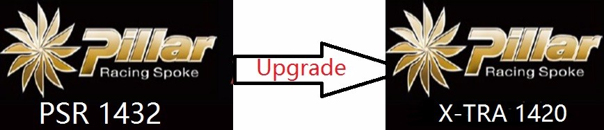 Cost for upgrade the spokes from Pillar 1432 to Pillar 1420 cost justifying usability