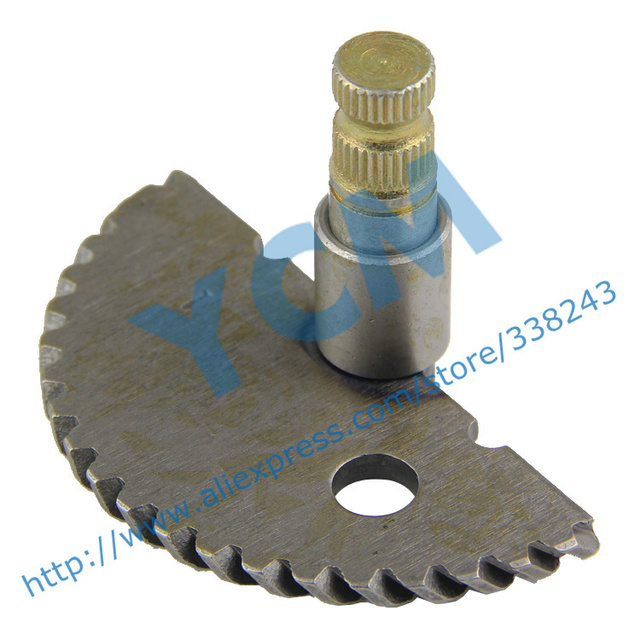 Start Shaft 55mm GY6 50 80cc Start Gear Scooter Engine Spare Parts 139QMB Moped Wholesale YCM