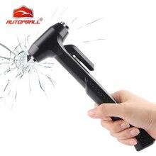 Защитный молоток для стекла автомобиля, полезный спасательный мини молоток для ремня безопасности