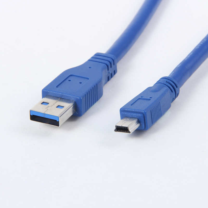 USB 3.0 A Male to Mini 10 Pin B Extension Cable cord For tablets camcorders HUB HDD Connector
