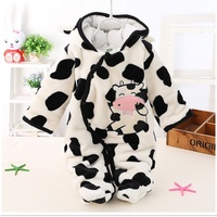 Winter Baby Boy Clothes Christmas Newborn Baby Romper Cotton Baby Down Parkas Baby Girls Clothing Roupa Infant Jumpsuits Coat