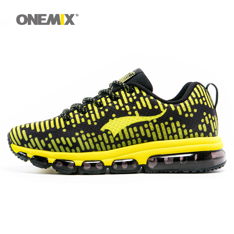 Onemix men's sports shoes women running breathable mesh male outdoor sneaker lace up zapatos de hombre adult shoes size EU 36-46 onemix unisex runner sneaker original zapatos de hombre 2017 new women athletic outdoor sport shoes men running shoes size 36 46