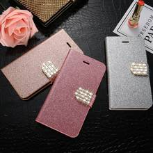 KISSCASE Leather Case For Samsung Galaxy Note 8 5 4 3 S8 S8 Plus S5 S4 S3 Bling Diamond Glitter Flip Stand Card Slot Cover Capa