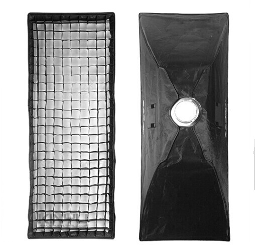 Godox Pro Photo Studio Flash Strobe Diffuser Soft Box Softbox 50x130CM With Honeycomb Grid Bowens Mount meking photo studio lighting softbox 70cmx100cm 28x40 with bowens mount photo softbox reflector for flash speedlight