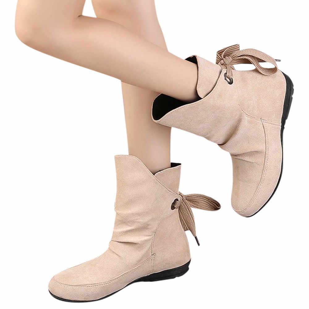 SAGACE klasik kadın kış çizmeler kadın ayakkabıları toka modis roma kısa çizmeler Martin çizmeler zapatos de mujer O 35