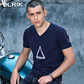 OLRIK 2016 New Summer brand clothing men t-shirt Cotton Casual Short Sleeve t shirt Top Tees tshirt homme mens fitness shirts