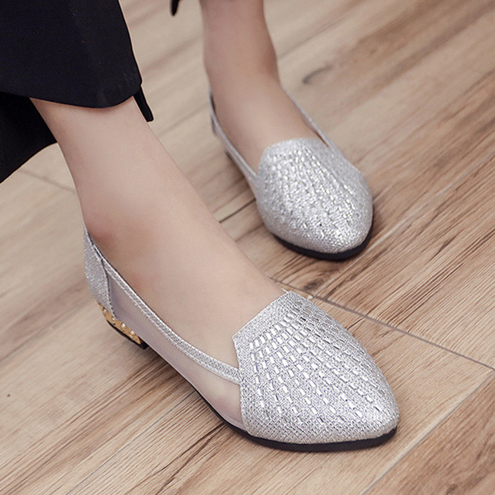 Summer style Women Ballet Flats Round Toe Slip on Shoes Cut-outs Flats Shoes Shallow White Sandals Woman Loafers zapatos mujer summer flat shoes women ballet flats slip on loafers women string beads round toe shoes embroidered canvas shoes zapatos mujer