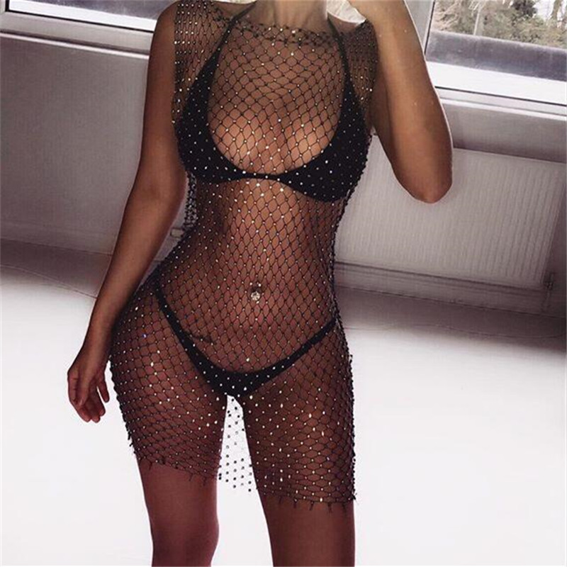 Women in see through dresses apologise, but
