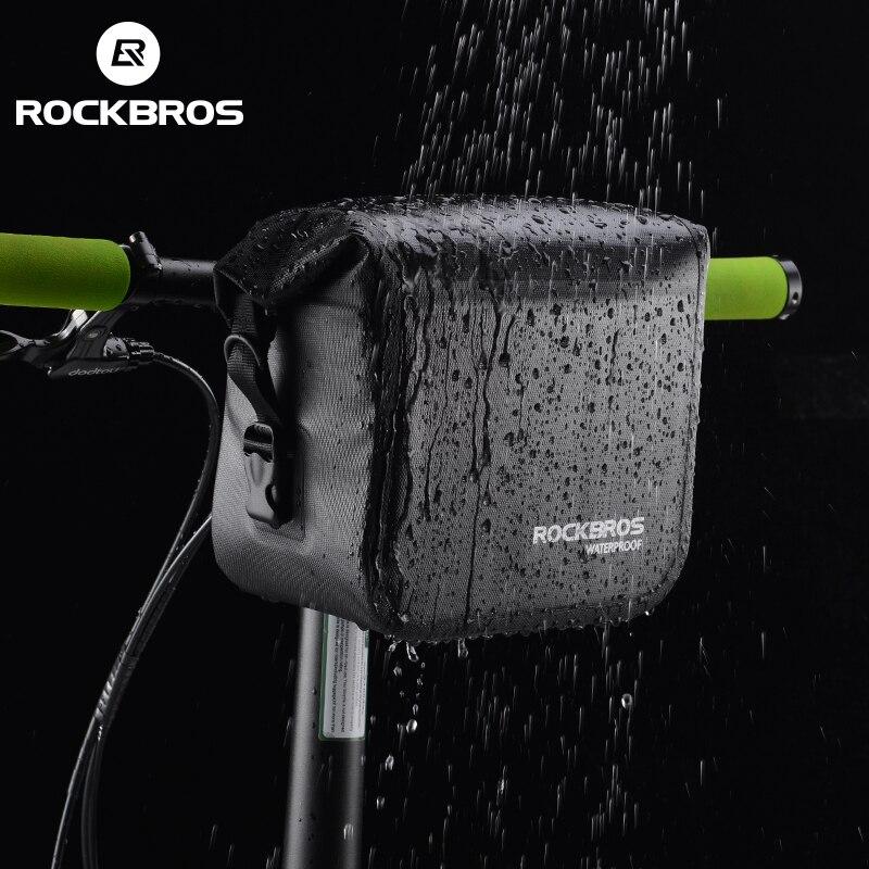 ROCKBROS Mtb Fahrrad-vorderes Tasche 4L Wasserdichte Lenkertasche ...