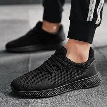 Weweya tamanho grande 48 homem tênis tecer sapatos casuais dos homens de pouco peso tênis malha ao ar livre caminhada sapato tenis masculino adulto