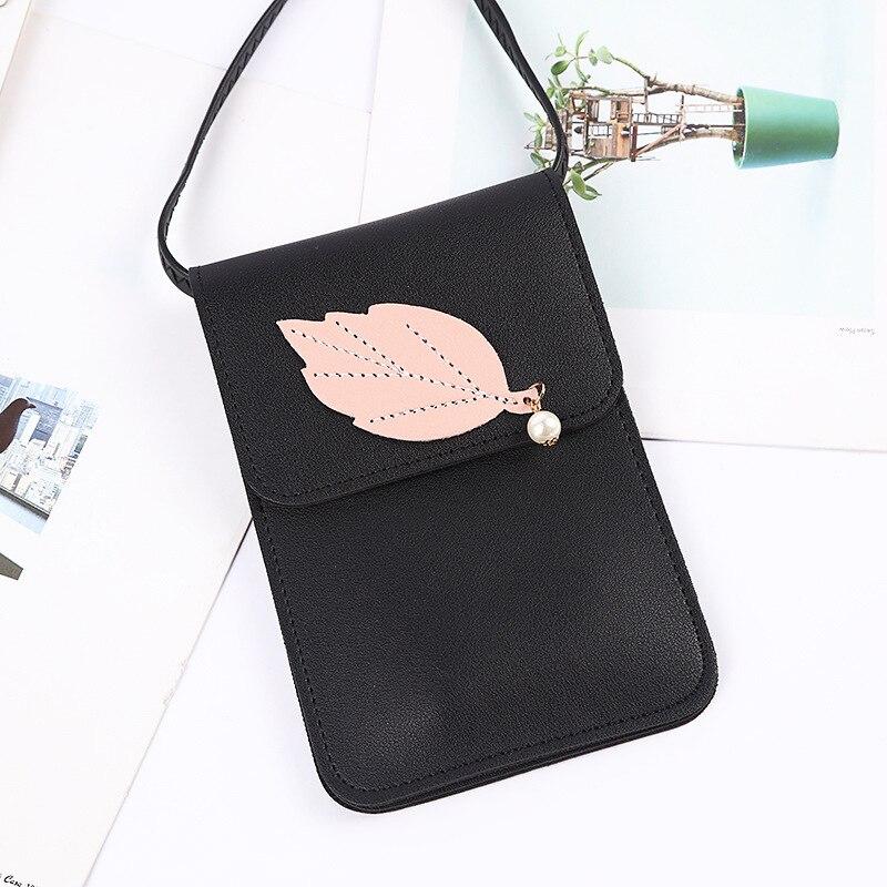 BOTUSI Phone Bag Cross Body Bags Mini Shoulder Designer Famous Brand Women 2019 Envelope Pink Purses Handbags