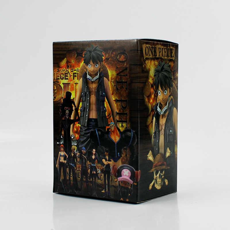 ... 9pcs lot One Piece Figure Toys Luffy Nami Robin Chopper Zoro Sanji  Brook Usopp Franky 6e353488f0cb