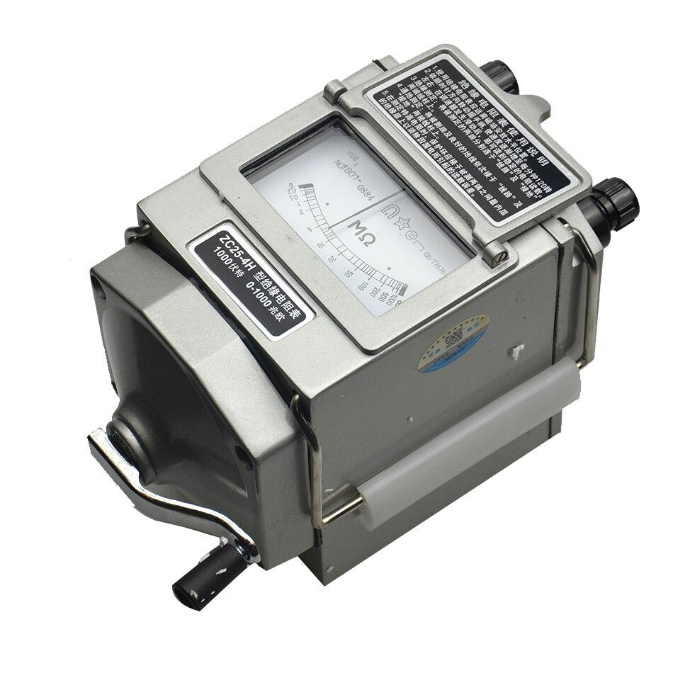 Insulation Megohm Tester Resistance Meter 1000V Megger Megohmmeter 0 1000M ohm