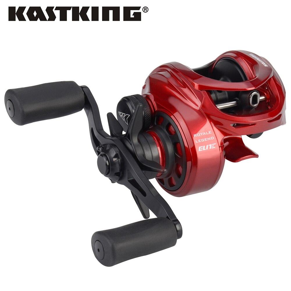 KastKing Royale Legend Elite Series Baitcasting Reel Magnetic Brake Reels Right Left Hand 12BBs 8KG Fishing